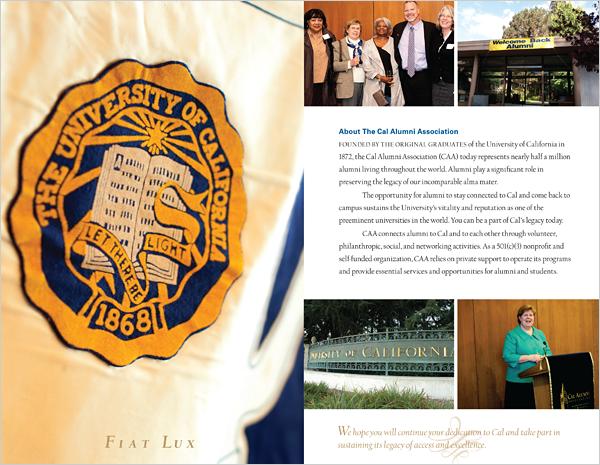Cal Alumni Giving Brochure