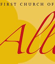 First Church of Christ, Scientist, San Francisco Invitation Poster