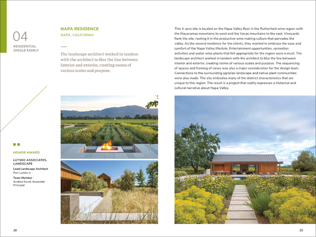 ASLA Awards catalog